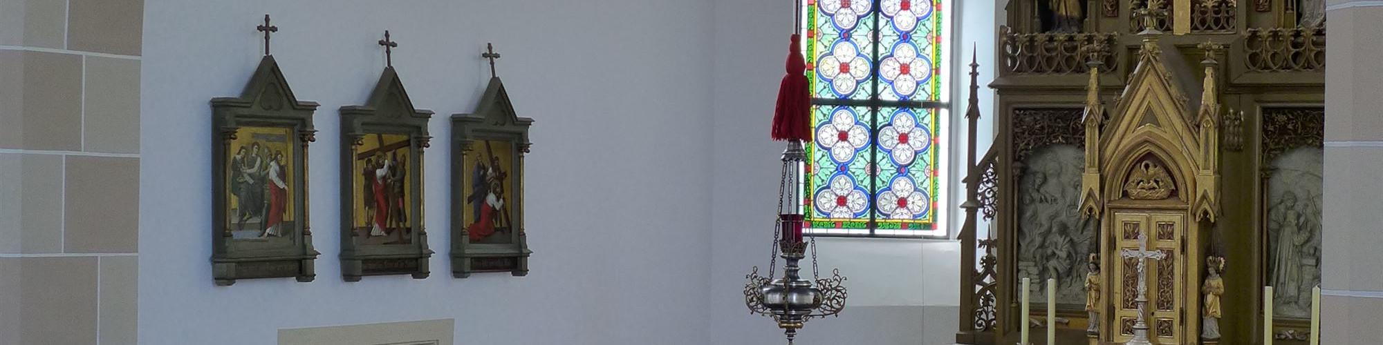 Kirche Oberwerrn - integrierter Teil der alten Kirche-sld