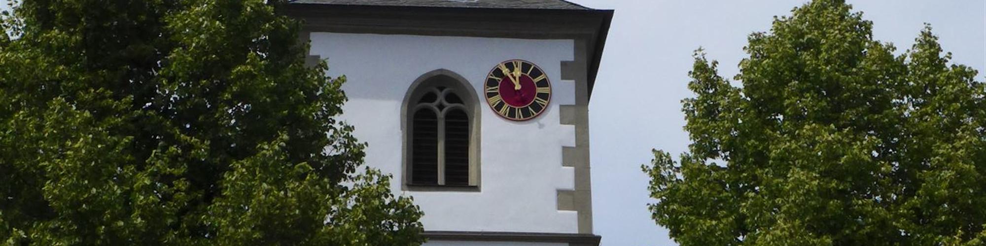 Kirche Oberwerrn - Haltestelle-sld